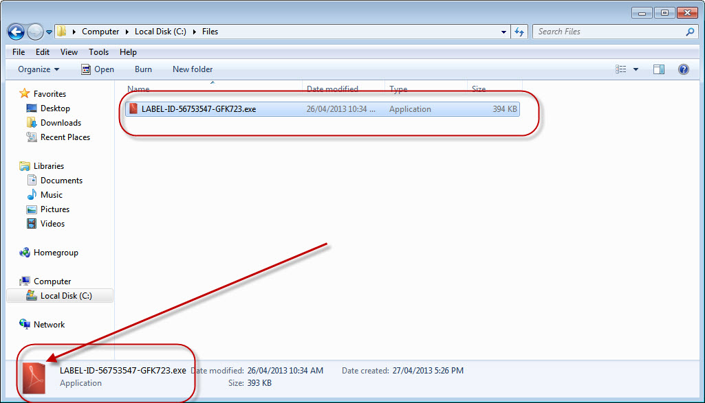 inject an exe file to pdf with autostart with pdf file